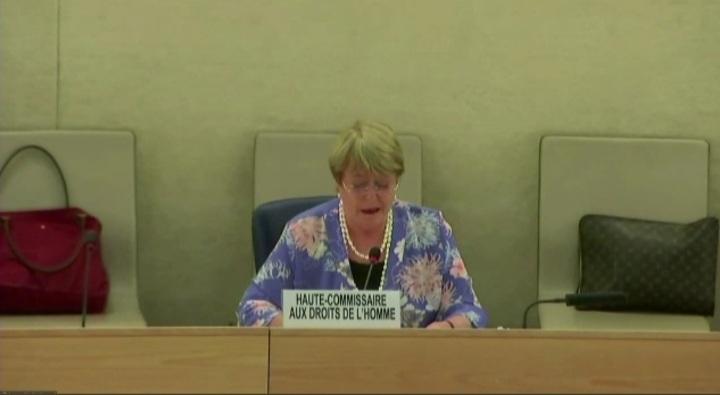 Alta Comisionada Michelle Bachelet alerta sobre reducción del espacio cívico en Venezuela