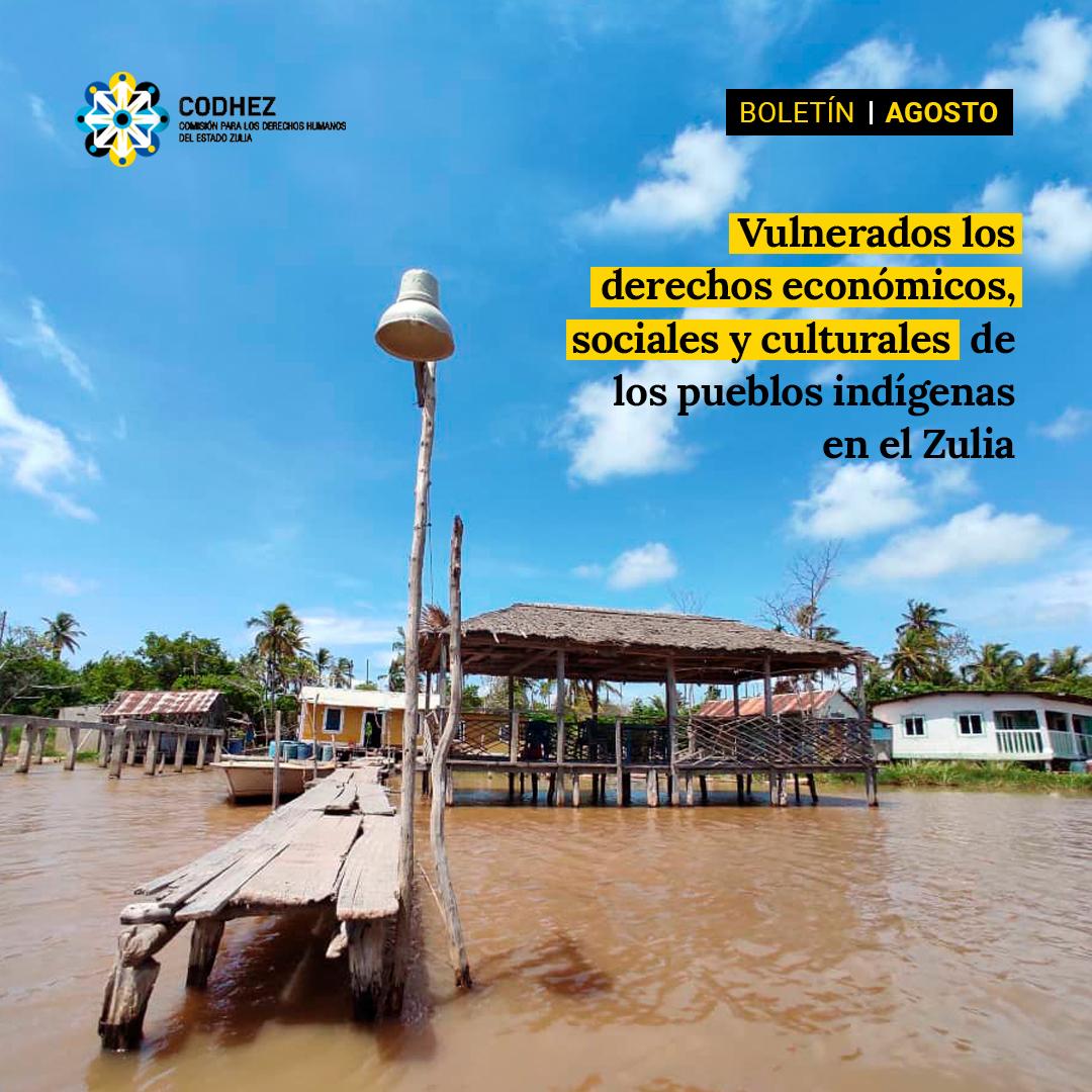 Codhez advierte del retroceso de los derechos económicos, sociales y culturales de los pueblos indígenas en el Zulia