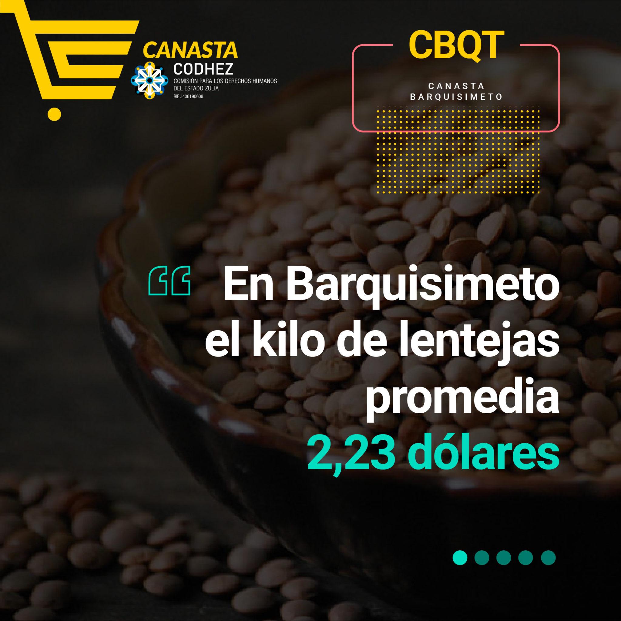 Nuevo sueldo mínimo solo rinde para comprar un kilo de lentejas en Barquisimeto