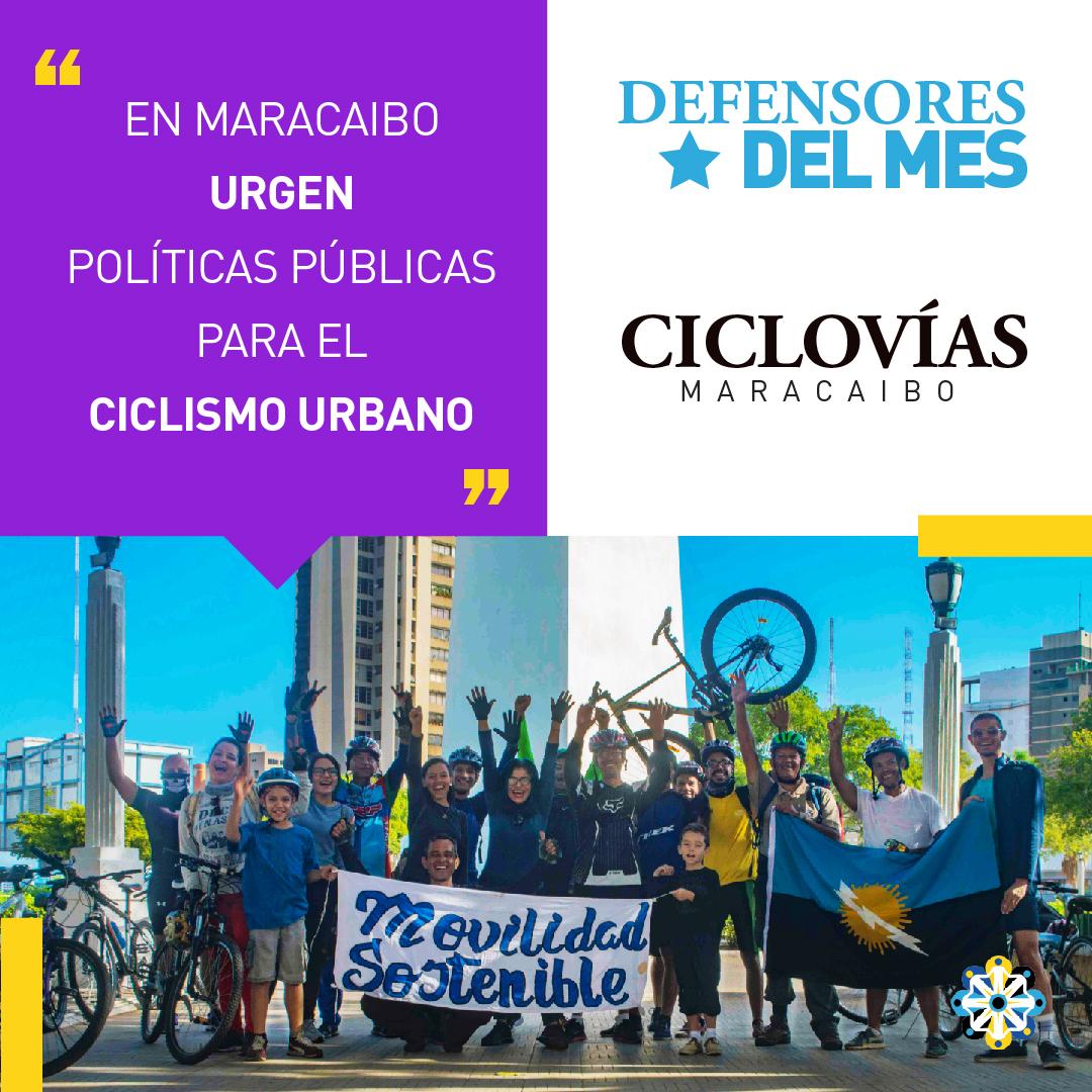 «En Maracaibo es urgente promover políticas públicas para el ciclismo urbano»
