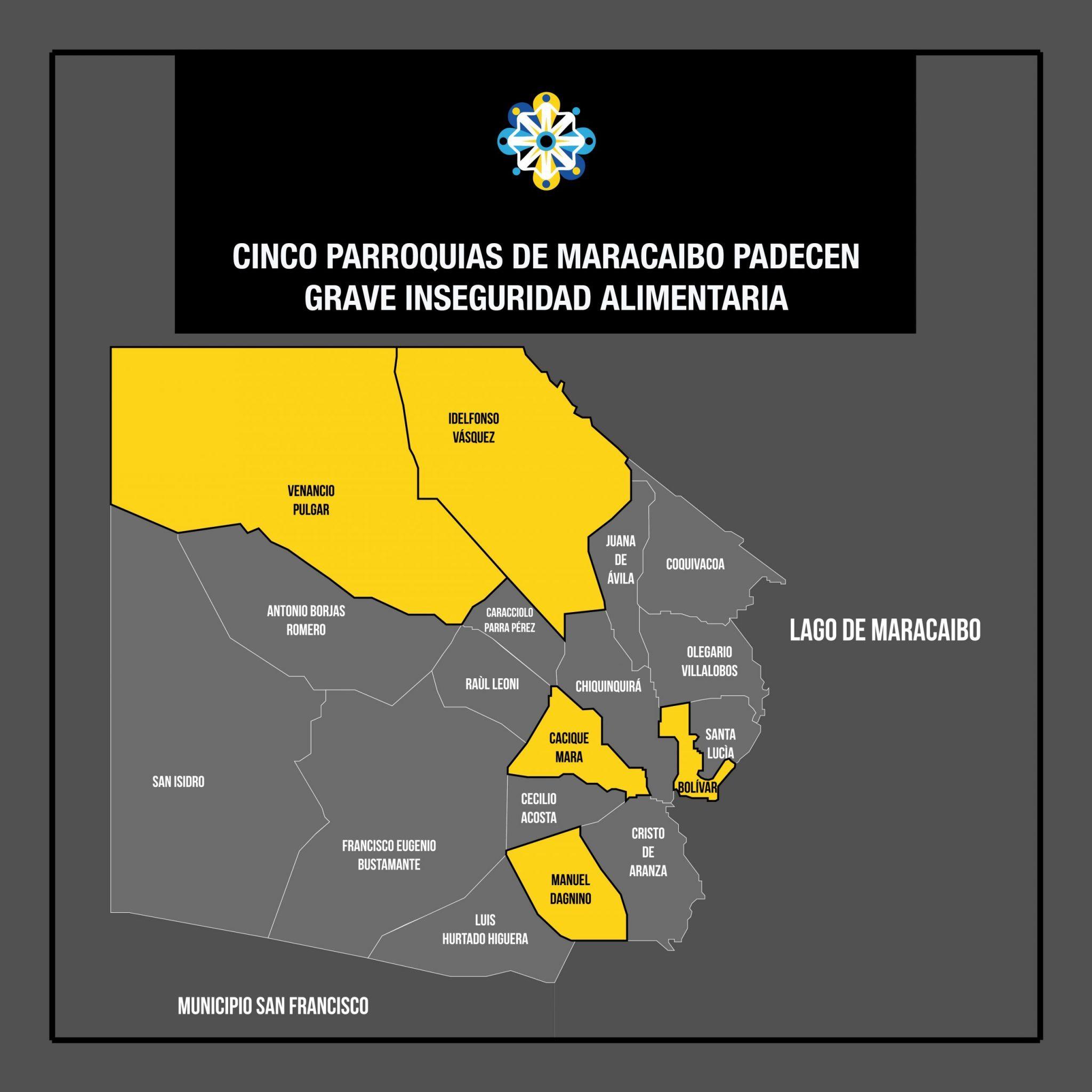 Cinco parroquias de Maracaibo padecen grave inseguridad alimentaria