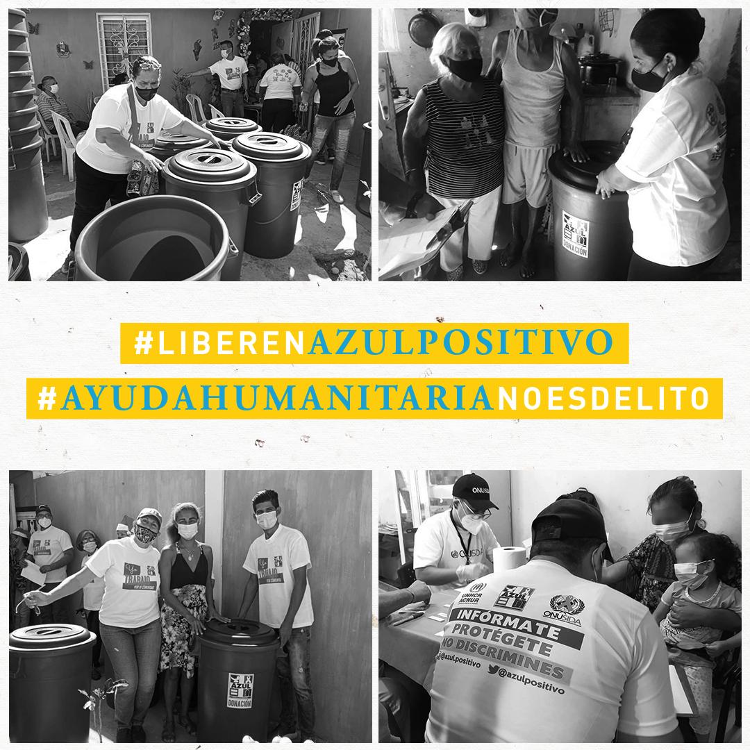10 claves sobre la detención de trabajadores humanitarios de Azul Positivo
