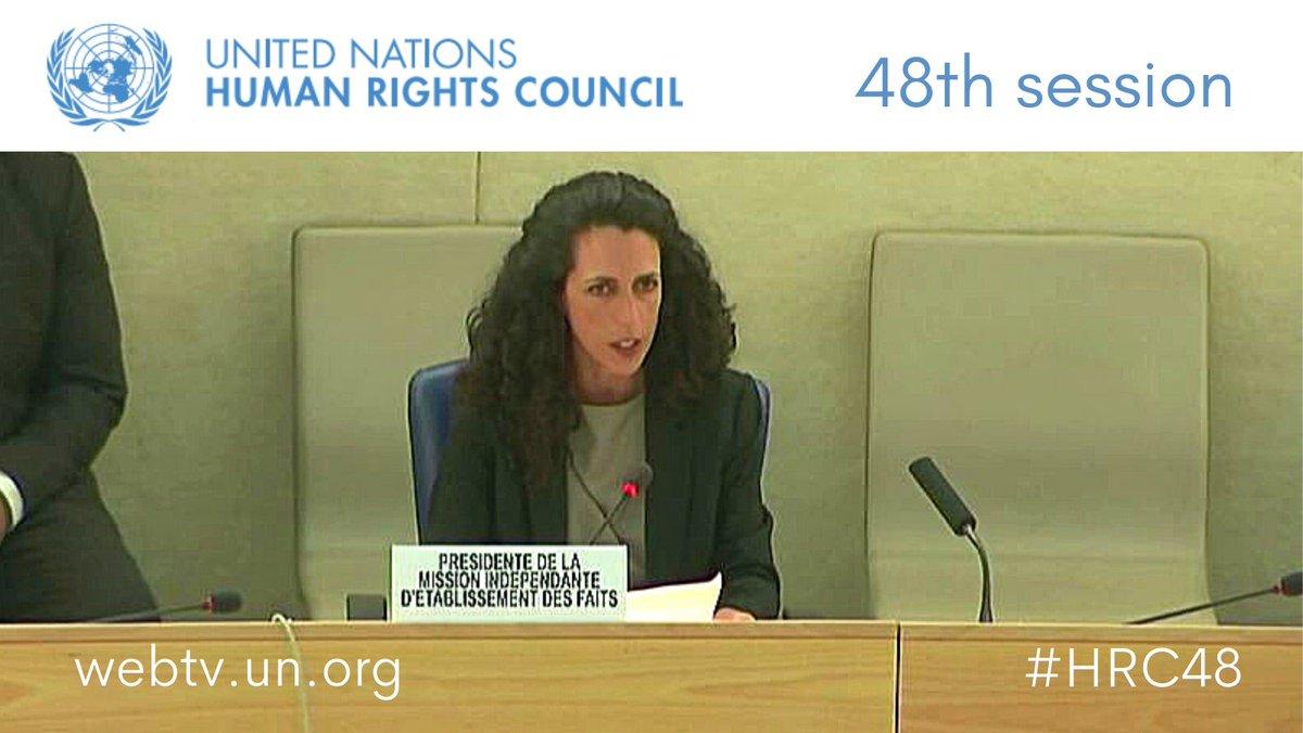 La Misión de Determinación de los Hechos sobre Venezuela presentó su segundo informe ante el Consejo de Derechos Humanos