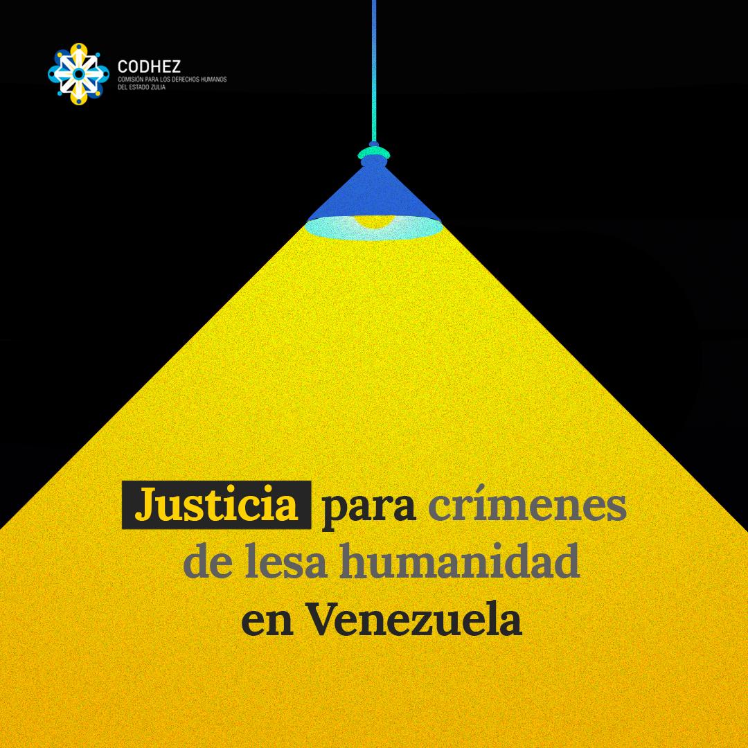 Respuestas para Venezuela: Justicia para las víctimas de crímenes de lesa humanidad