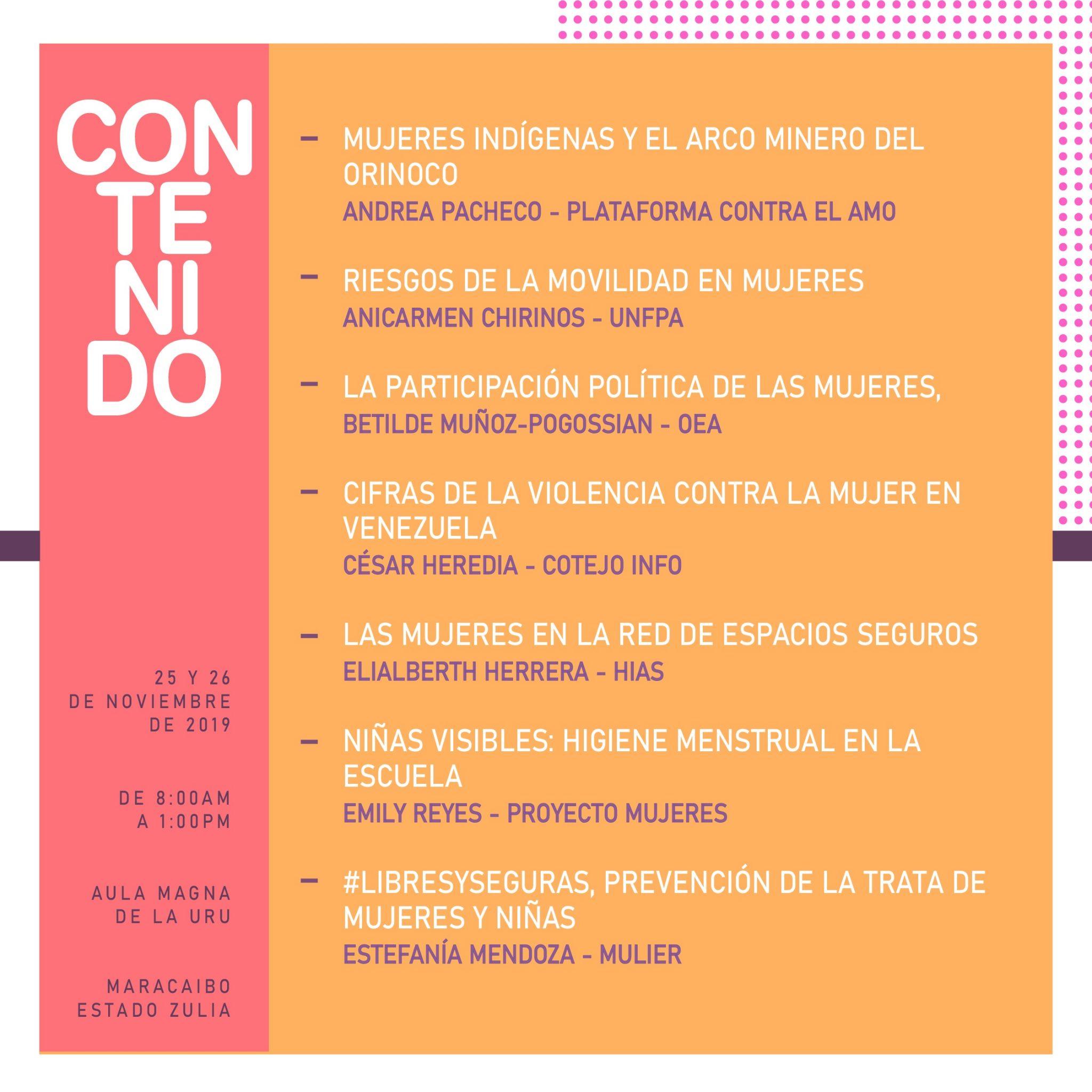 Mulier y Codhez invitan al foro La violencia contra la mujer en Venezuela: Desafíos y propuestas