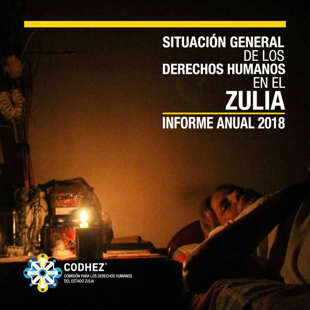 Informe anual 2018: Situación general de los derechos humanos en el Zulia